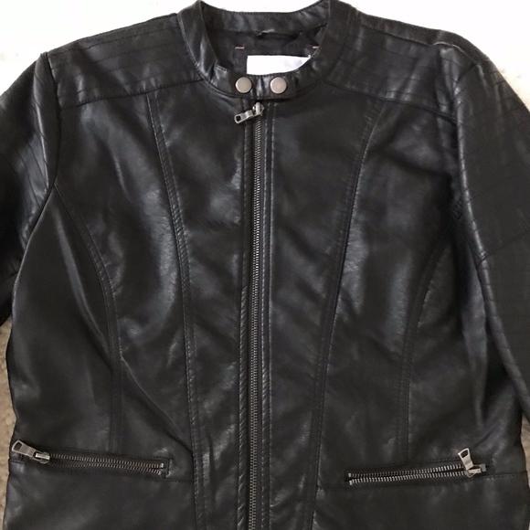 29fd571e4e571 Xhilaration Jackets & Coats | Womens Moto Faux Leather Jacket Mint ...